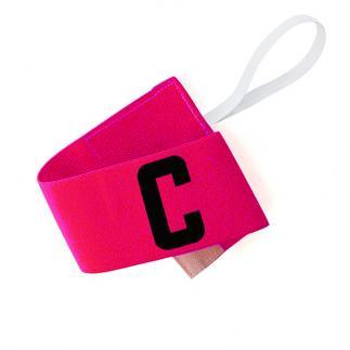 Brassard capitaine rose - 7 cm