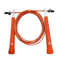 Corde à sauter acier, speed - Orange