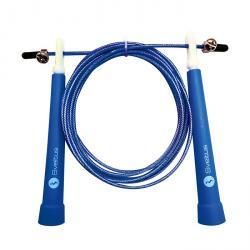 Corde à sauter acier, speed - Bleu