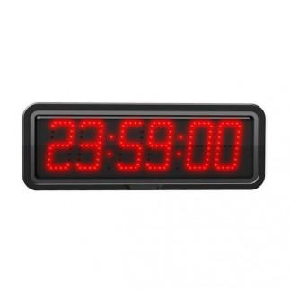 Horloge à diodes 6 Chiffres 10 cm - Chrono/Timer - Calendrier