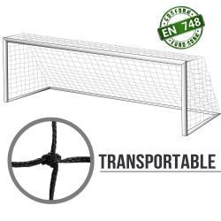 Filets transportables foot à 8 : 6x2.1x2.1m