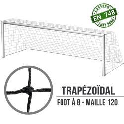 Filets de foot à 8 à la norme : 6x2.1x2.1m