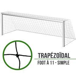 Filets de foot à 11 simple : 7.5x2.5x2x1m