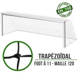 Filets de foot à 11 à la norme : 7.5x2.5x2x1m