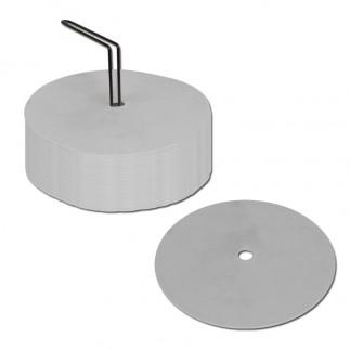 Disque de repérage blanc - 15 cm