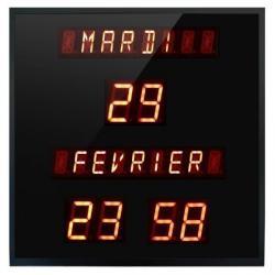 Horloge & Calendrier digitale à diodes