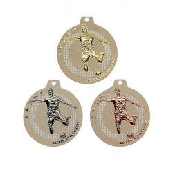 Médaille bicolore Or, Argent, Bronze - 50 mm