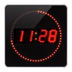 Horloge à leds - Secondes déroulantes