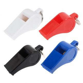 Sifflet plastique par boîte de 12