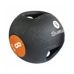 Médecine ball avec poignée 8kg