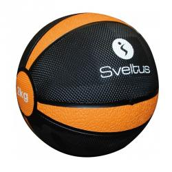 Médecine ball 2kg, Orange
