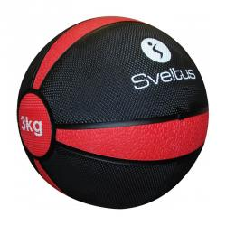 Médecine ball 3kg, Rouge