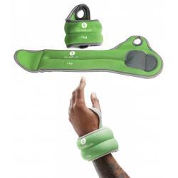 Bracelets lestés poignets - 1kg