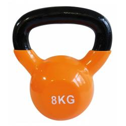 Kettlebell vinyle - 8kg