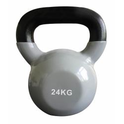 Kettlebell vinyle - 24kg