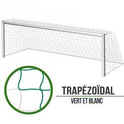 Filets foot à 11 Trapézoïde - Vert/Blanc