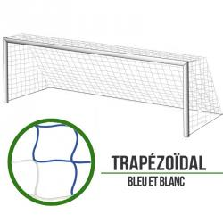 Filets foot à 11 Trapézoïde - Bleu/Blanc