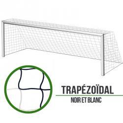 Filets foot à 11 Trapézoïde - Noir/Blanc