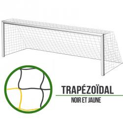 Filets foot à 11 Trapézoïde - Noir/Jaune