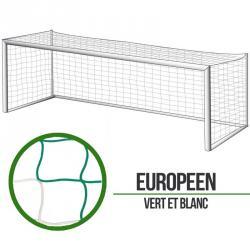 Filets foot à 11 Européen - Vert/Blanc