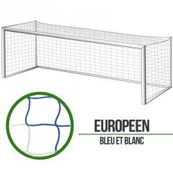Filets foot à 11 Européen - Bleu/Blanc