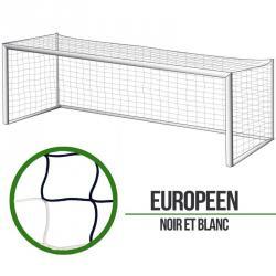 Filets foot à 11 Européen - Noir/Blanc