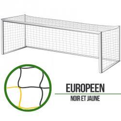 Filets foot à 11 Européen - Noir/Jaune