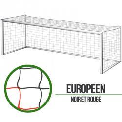 Filets foot à 11 Européen - Noir/Rouge