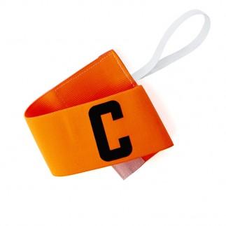 Brassard capitaine orange - 7 cm