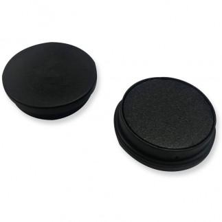 Lot 15 aimants tableau - Noir - 3 cm