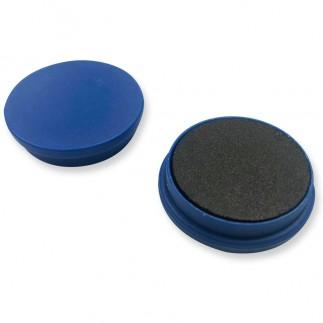 Lot 15 aimants - Bleu - 3 cm