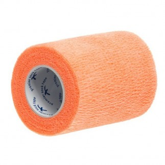 Bande de maintien Wrap 7.5 cm - Orange Fluo