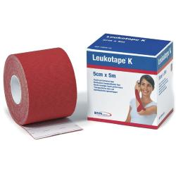Bande Leukotape K - RougeCatalogue