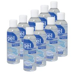 Lot 12 flacons gel hydroalcoolique - 100 ml