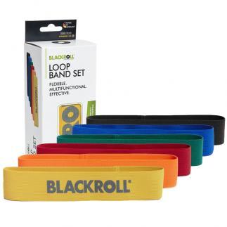 Loop Band - Blackroll, 32 cm - Pack de 6
