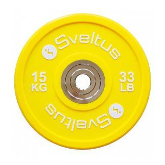 Disque olympique compétition - 15kg