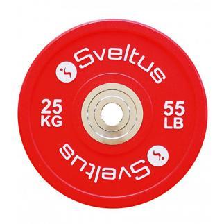 Disque olympique compétition - 25kg