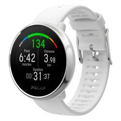 Montre Polar IGNITE, Blanc - GPS/ Fréquence cardiaque