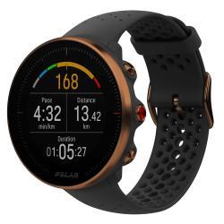 Montre Polar Vantage M, Noir/Or - GPS/Fréquence cardiaque