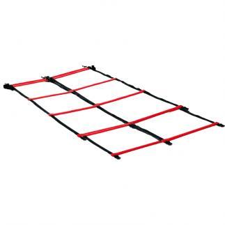 Double échelle coordination - Rouge - 4 m