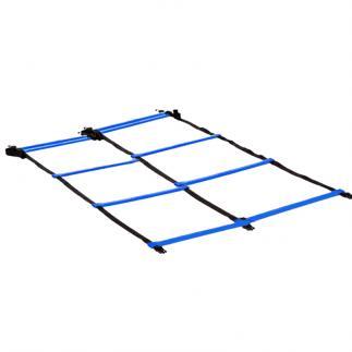 Double échelle coordination - Bleu - 4 m