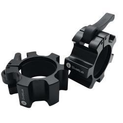 Stop disque aluminium noir Ø51 mm