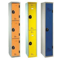 Vestiaires multicasiers 1 colonne - 30 cm