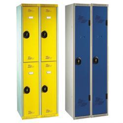 Vestiaires multicasiers 2 colonnes - 60 cm