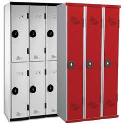 Vestiaires multicasiers 3 colonnes - 90 cm