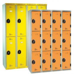 Vestiaires multicasiers 4 colonnes - 120 cm