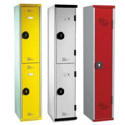 Vestiaires multicasiers 1 colonne - 40 cm