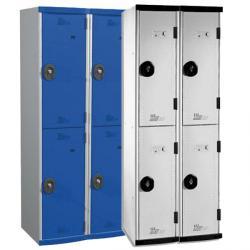 Vestiaires multicasiers 2 colonnes - 80 cm