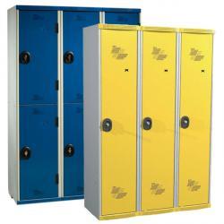 Vestiaires multicasiers 3 colonnes - 120 cm